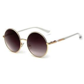 Oculos Redondo Hippie Colorido - Óculos De Sol no Mercado Livre Brasil 065d2d6cec