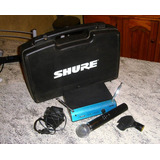 Microfono Shure Sm 58 ( Made In Usa ) Inalambrico - Sm58 Pgx