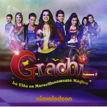 Grachi Volumen 2 Dos Nickelodeon Disco Cd 14 Canciones
