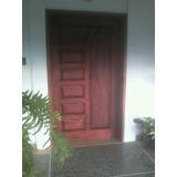 Puertas En Madera De Cedro Macizas.