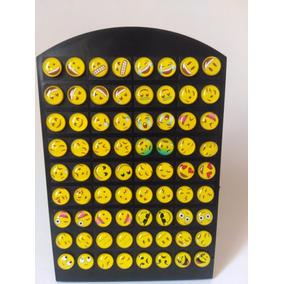 Atacado 72 Brincos Emojis Whatssap 36 Pares 8mm Ref M46