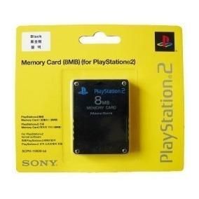 Memory Card 8mb Playstation 2 Sony Ps2