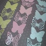 Mariposas En Cartulinas Perladas Para Proyectos De Scrapbook