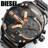 Reloj Hombre Diesel Dz7312 100% Original + Manilla De Oro