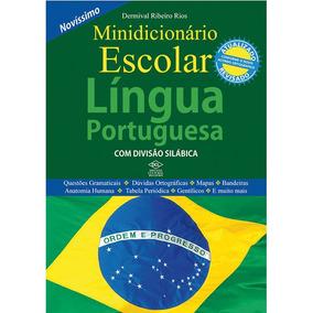 3 Dicionario Portugues Escolar 30mil Verbetes 608pgs Dcl Un.