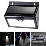 Lámpara Solar Led Exterior De Seguridad Sensor De Movimiento