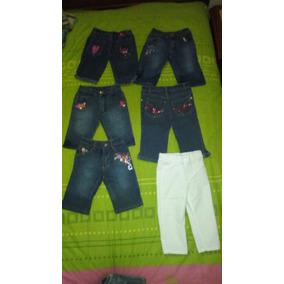 Pantalones De Niñas De Jean 1 A 2años