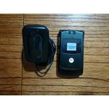 Celular Motorola V3 Black Con Batería Y Cargador