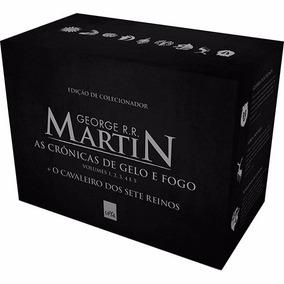 Game Of Thrones - 5 Livros - Box Guerra Dos Tronos - Lacrado