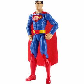 Boneco Super Homem 30cm Justice League Ation Superman Mattel
