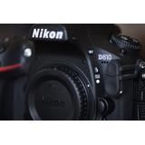 Câmera Nikon D810 Semi Nova Na Caixa Com Todos Os Acessórios