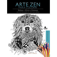 Arte Zen Livro Para Colorir + De 100  Desenhos Só Frente