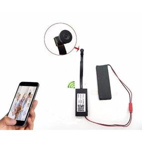 Micro Camera Sem Fio Wifi Ip Celular Tempo Real Espiao