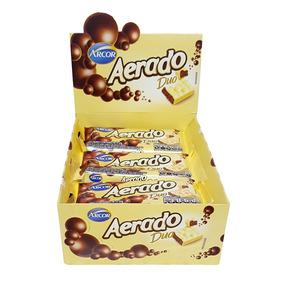 Kit 6 Chocolate Aerado Branco Ao Leite Cx 15un 30g Promoçao