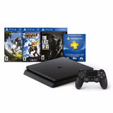 Playstation 4 Slim + The Last Of Us + Ratchet & Clank