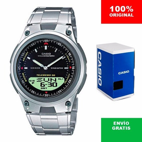 feed91d61151 reloj casio metalico negro