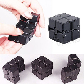 Lujo Edc Infinito Cubo Mini Fidget Anti Ansiedad Niños