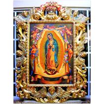 Pintura Al Oleo Virgen De Guadalupe