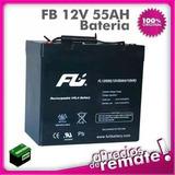 Batería Sellada 12 Voltios 55 Amperios /10hr 12v 55ah