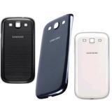 Tampa Traseira Bateria Samsung Galaxy S3 I9300 + Película