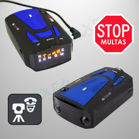 Detector De Radar Móvel Laser Veicular Alerta Sonoro/visual