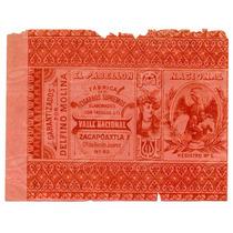 Marquilla Cigarros Nacional Fabrica El Pabellón 1910