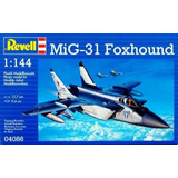 Mig 31 Foxhound By Revell Germany # 4086 1/144