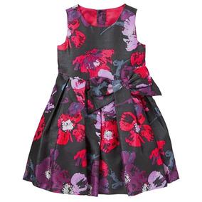 Vestido De Festa Infantil Floral Gymboree Importado Eua