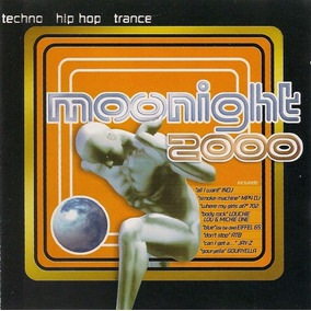 Cd Moonight 2000 Funk Dance Disco Pop Original Lacrado