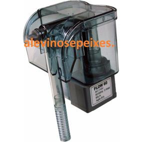 Filtro Externo Flow 60l/h 220v P/aquário Ate 40 L.