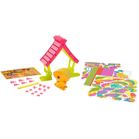 Amigami Tropical Bird And Beach House Set De Juego
