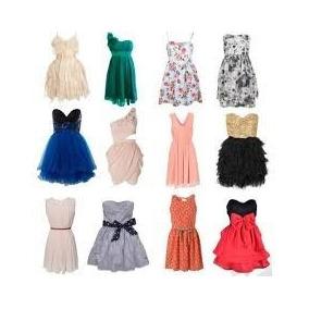 Lote De 10 Vestidos Cortos Americanos Premium Para Dama