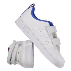 c918081973007 Tênis adidas Vs Advantage Clean Infantil Branco E Azul