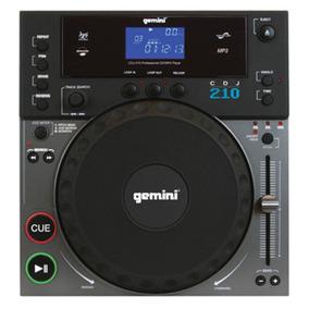 Reproductor De Mesa Mixer Profesional Dj Gemini Cdj210
