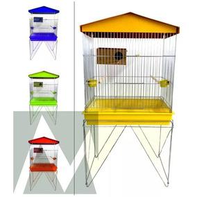 Viveiro Criador Para Agapornis, Periquito, Canario + Ninho