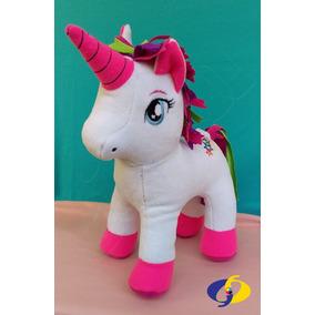 Peluche Unicornio 35 Cm Aprox.