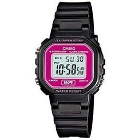 01d51ba4b71 Relogio Casio Lilas - Relógios De Pulso no Mercado Livre Brasil