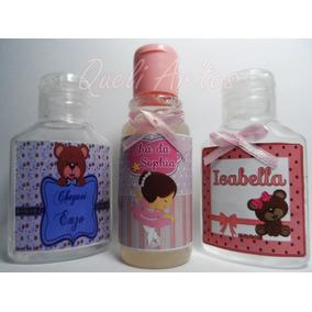 50 Mini Alcool Em Gel Perfumados Maternidade,chá De Bebê Etc