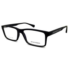 Armação Para Óculos De Grau Masculina Em Acetato Preta - Óculos em ... 1ca5a2c559