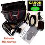 Canon Hf R40 + Accesorios Entrada Mic Externo Ver Fotos