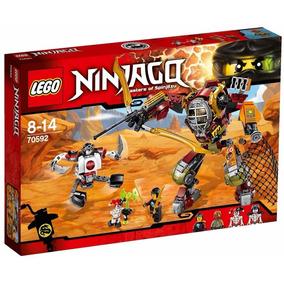 Lego Ninjago 70592 Robot Salvage Mec De Rescate Mundo Manias