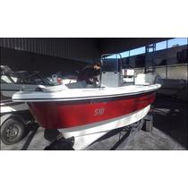 Pescador 5.10 Mts Equipado Con Motor Y Comandos Todo Nuevo!!