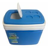 Caixa Térmica Cooler Com Alça Soprano 32 Lt Azul (77)