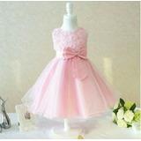 Vestido Infantil Festa Criança Princesa Casamento Batizado