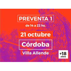 We Color Festival - Cordoba - Preventa 1 - General