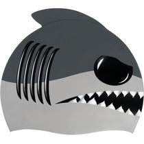 Gorra Para Natación Modelo Animals, Estilo Tiburon
