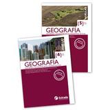 Lote X 5 Libros Geografía 1 2 3 4 Y 5 Huellas Estrada