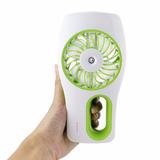Ventilador Portátil Vapor Agua Bateria Supoer Forte Mini Fan