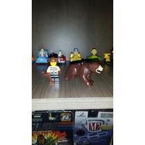 Lote Lego Urso Pardo +guarda Florestal Set 4438