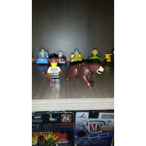 Lote Lego Urso Pardo +guarda Florestal Set 4438